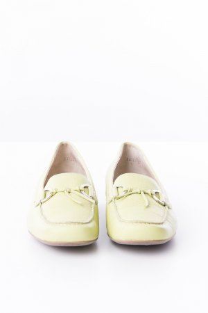 Paul Green Mocassins vert clair cuir