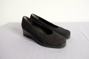 paul green loafers plateau matt schwarz cleanchic 40