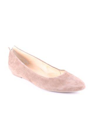 Paul Green Mary Jane Ballerinas camel Business-Look