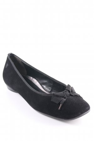 Paul Green Mary Jane Ballerinas black casual look