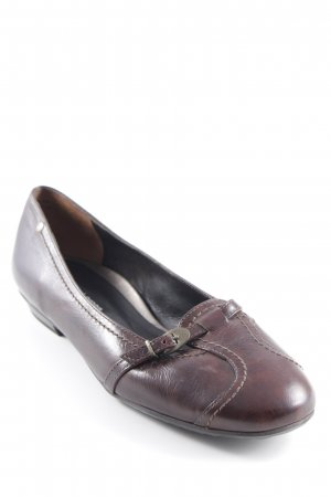 Paul Green Mary Janes dark brown casual look