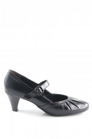 Paul Green Tacones Mary Jane negro estilo «business»