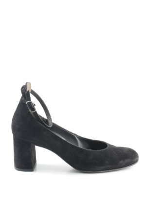 Paul Green Tacones Mary Jane negro elegante