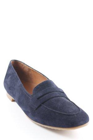 Paul Green Mocassins bleu foncé style d'affaires
