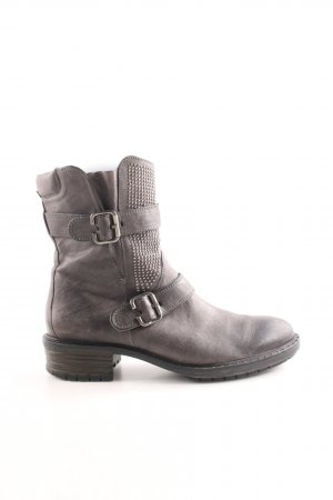 Paul Green Biker Boots brown casual look