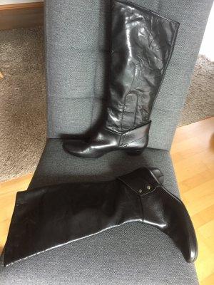 Paul Green München Stiefel Leder schwarz Größe 38,5
