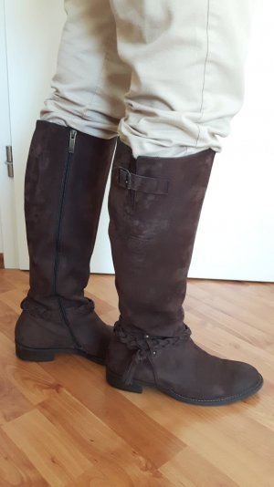 Paul Green Jackboots dark brown