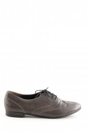 Paul Green Zapatos estilo Oxford marrón estilo «business»
