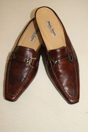 Paul Green Mules brown leather