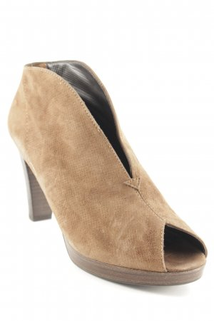 Paul Green Peeptoe Pumps braun Casual-Look
