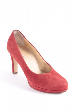 Paul Green Plateau-Pumps rot klassischer Stil