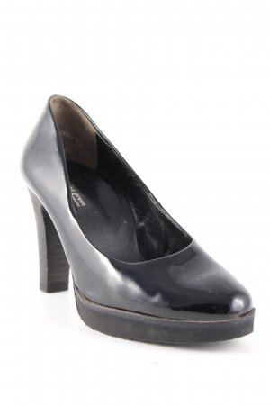 Paul Green Plateau-Pumps schwarz Elegant