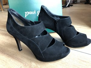 Paul Green Chaussure à talons carrés noir