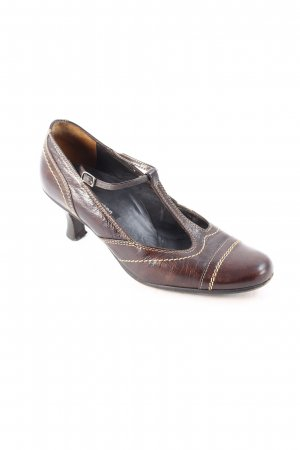 Paul Green Pumps brown '60s style