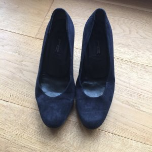 Paul Green Pumps Marine Wildleder
