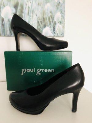 Paul Green Pumps Plateau schwarz Gr 41 statt 120 eur