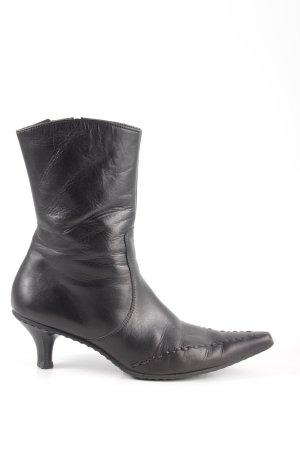Paul Green Reißverschluss-Stiefeletten schwarz extravaganter Stil