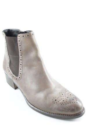 Paul Green Reißverschluss-Stiefeletten graubraun Casual-Look