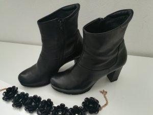 Paul Green Reißverschluss-Stiefeletten schwarz