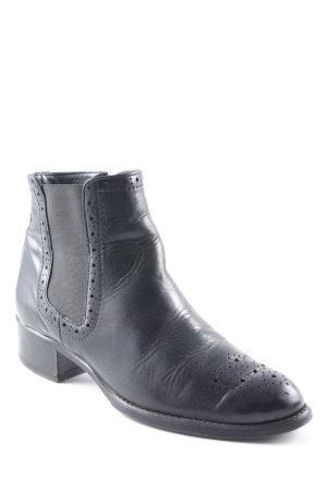 Paul Green Reißverschluss-Stiefeletten schwarz klassischer Stil