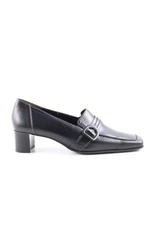 Paul Green Richelieus Shoes black business style
