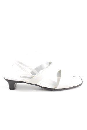 Paul Green Sandalo con cinturino bianco stile casual