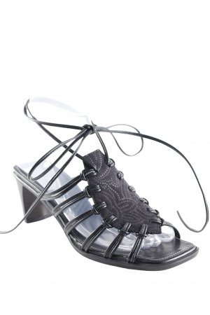 Paul Green Strapped High-Heeled Sandals black casual look