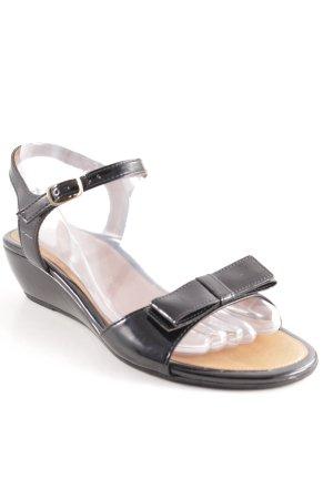 Paul Green Riemchen-Sandaletten schwarz Elegant