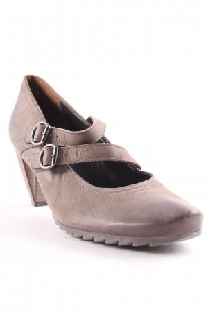 Paul Green Riemchenpumps braun-beige Casual-Look