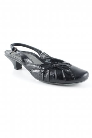 Paul Green Riemchenpumps schwarz Elegant
