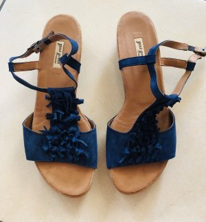 Paul Green Strapped Sandals dark blue-blue