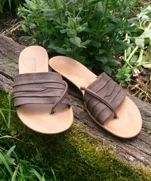 paul green sandalen leder