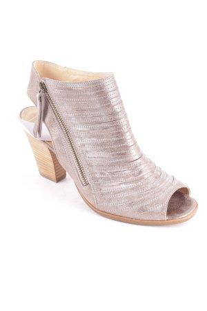 Paul Green Sandaletten silberfarben-goldfarben Farbverlauf Street-Fashion-Look