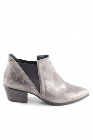 Paul Green Slip-on Booties silver-colored casual look
