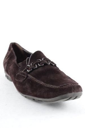 Paul Green Zapatos sin cordones marrón oscuro look casual