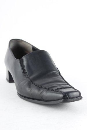 Paul Green Slip-on noir style décontracté