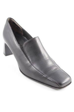 Paul Green Schlüpfschuhe schwarz minimalistischer Stil