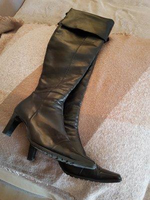 Paul Green #Schnäppchen # schwarze Stiefel aus Echtleder