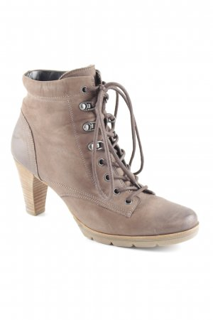 Paul Green Lace-up Booties brown casual look