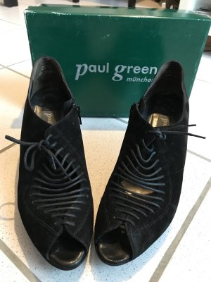 Paul Green Schnürer Stiefelette (Größe 7,5/41) schwarz