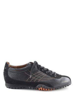 sale retailer b1de5 02b18 Paul Green Schnürschuhe schwarz-hellorange sportlicher Stil