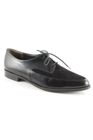 Paul Green Schnürschuhe schwarz klassischer Stil