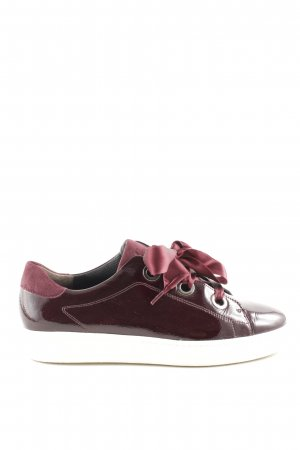 Paul Green Schnürsneaker rot Casual-Look