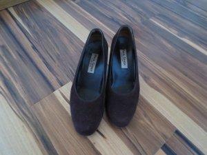 Paul Green Schuhe, braun, rauhleder, Absatz 5 cm, Gr. 36