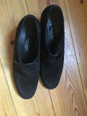 Paul Green Schuhe,College Schuhe, Wildleder, schwarz, 41