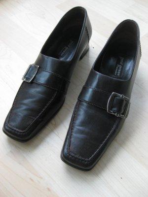 Paul Green Schuhe, dunkelbraun, Größe 40, wie neu