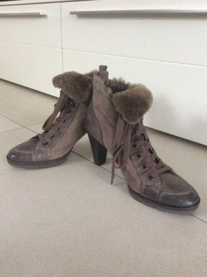 Paul Green Schuhe grau braun Gr. 38,5