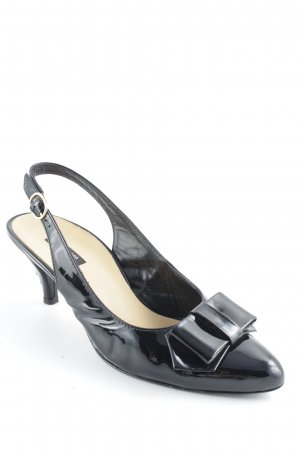 Paul Green Slingback-Pumps schwarz Elegant