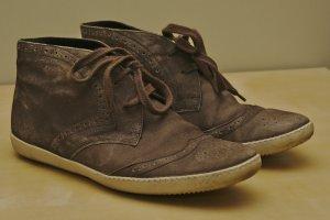 PAUL GREEN Sneaker graubraun in Gr. 38