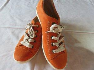 Paul Green Sneaker in Orange TOPZUSTAND ! Größe 38. NP159 EUR !